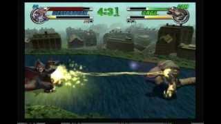 getlinkyoutube.com-Godzilla: Destroy All Monsters Melee: Destoroyah (Me) vs Orga (CPU)