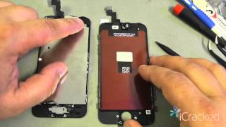 getlinkyoutube.com-Offical iPhone 5s Screen / LCD Replacement Video & Instructions - iCracked.com