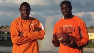 getlinkyoutube.com-Tennessee football signees Carlin Fils-Aime and Tyler Byrd  discuss the Vols and Coach Butch Jonesh