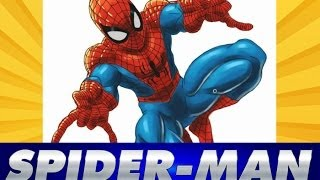 getlinkyoutube.com-Speed Drawing Spider-man | Como dibujar Spiderman | How to draw Spiderman