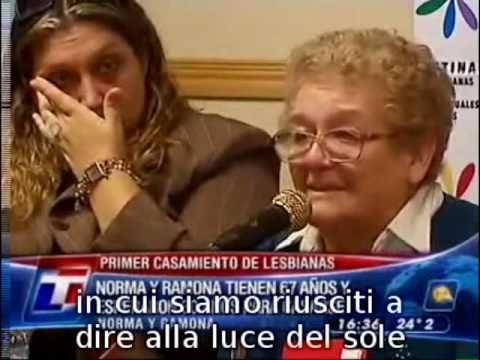 Primo matrimonio lesbico in Argentina