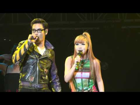 110715 GD &amp; TOP (Feat Park Bom) - Oh Yea @ Korean Music Wave KMW 2011
