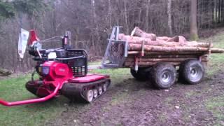getlinkyoutube.com-Lennartsfors IronHorse 2013 + ATV Trailer