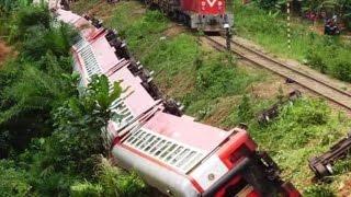 Cameroun :le déraillement d'un train