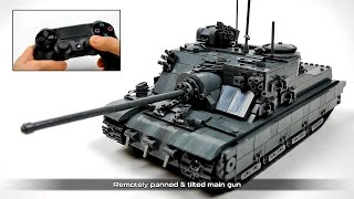 getlinkyoutube.com-Lego Technic RC A39 Tortoise Heavy Tank Destroyer