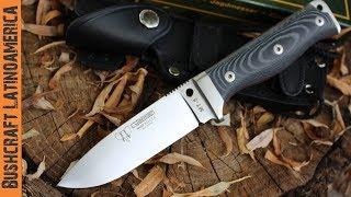 getlinkyoutube.com-Cuchillo de supervivencia  Cudeman MT5