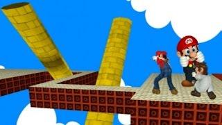 getlinkyoutube.com-3Dマリオメーカーで鬼畜すぎるコースに挑戦してみた!