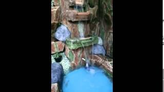 getlinkyoutube.com-Taman kolam ikan koi dan air terjun minimalis