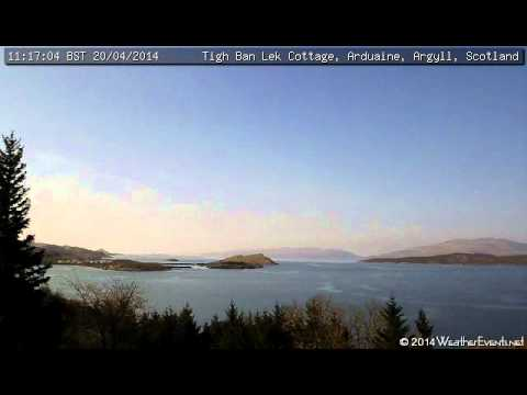 20 April 2014 - Tigh Ban Lek Cottage WeatherCam Timelapse