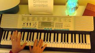 getlinkyoutube.com-How to Play ~ Moonlight Sonata-C#minor ~  Beethoven ~ LetterNotePlayer ©