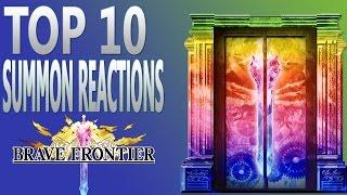 getlinkyoutube.com-Brave Frontier | Episode #440: Top 10 Summon Reactions!