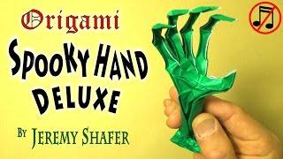 getlinkyoutube.com-Origami Spooky Hand Deluxe