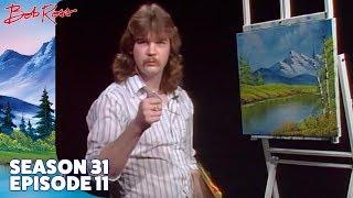 getlinkyoutube.com-Bob Ross - Lake at the Ridge (Season 31 Episode 11)