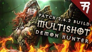 getlinkyoutube.com-Diablo 3 2.4.2 Demon Hunter Build: Unhallowed Essence Multishot (Season 7)