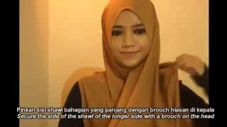 getlinkyoutube.com-2 Minutes Simple Everyday Hijab Style
