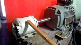 getlinkyoutube.com-Three phase rotary power converter, Danger! (H.Q.) by Jeffery A. Krueger