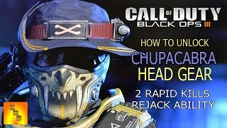 getlinkyoutube.com-Call Of Duty Black Ops 3 - NOMAD (CHUPACABRA HEAD GEAR) 2 Rapid Kills Rejack - How To Get