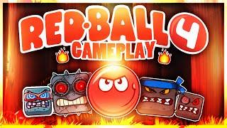 getlinkyoutube.com-Red ball 4 boss battle | gameplay #3