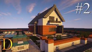 getlinkyoutube.com-MINECRAFT PORADNIK - Jak zbudować: modern house z basenem [#2]