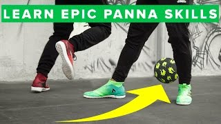 TOP 5 Ways to NUTMEG Your Friends - Learn HUMILIATING Football Skills!