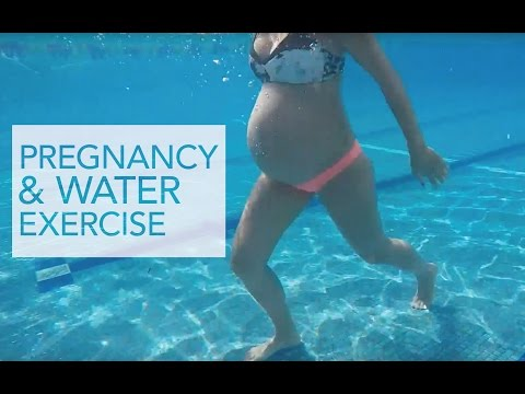 Water & Pregnant Exercise Routine