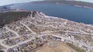 getlinkyoutube.com-There was a Drone in Curling  NL Today -  Uncut