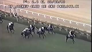 GP Jockey Club de São Paulo (G1) 1990 -  Thignon Lafre