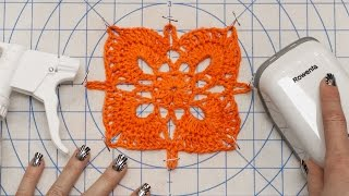 getlinkyoutube.com-DIY Blocking Tutorial - How to Block Knit and Crochet Handmade Items