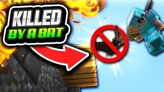 getlinkyoutube.com-KILLED BY A BAT (Minecraft Skywars)