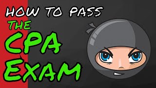 getlinkyoutube.com-How to Pass the CPA Exam using only NINJA | Another71.com