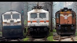 getlinkyoutube.com-Face-To-Face With The Heavyweight MONSTER TRIO + Parallel Actions :  INDIAN RAILWAYS
