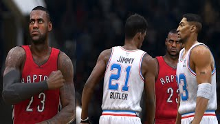 NBA LIVE 15 - LeBron Vs. Pippen (Ultimate Team)