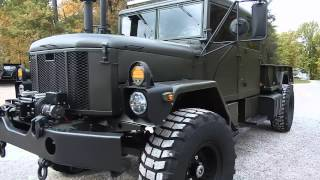 Bobbed Crew cab M35A3 Custom build C&C Equipment 812-336-2894