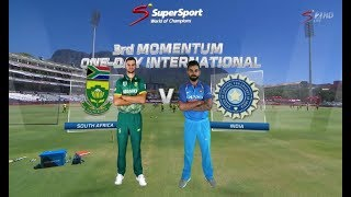 South Africa vs India: 3rd Momentum ODI, Build Up - Part 1/2