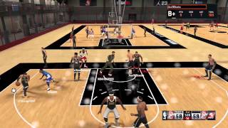 I DONT MISS! OVER TIME THRILLER! JORDAN REC CENTER NBA 2K15!