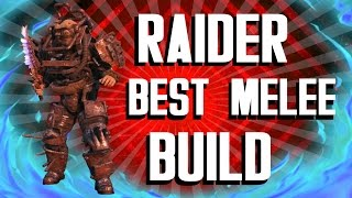 getlinkyoutube.com-Fallout 4 Builds - The Raider - Best Melee Build