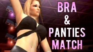 getlinkyoutube.com-WWE Smackdown: Here Comes The Pain - Bra & Panties Match