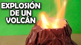 getlinkyoutube.com-Como Hacer Una Explosión Volcánica│EXPERIMENTOS