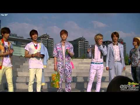 [FanCam] 120804 Boyfriend at Minwoo's Birthday Party &amp; Mini Fan Meeting
