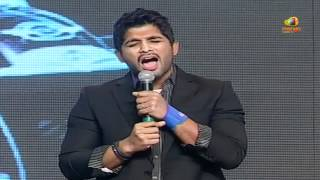 getlinkyoutube.com-allu arjun talks about pawan kalyan, trivikram & devi sri prasad - julayi audio launch