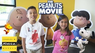 getlinkyoutube.com-THE PEANUTS MOVIE Adventure at the CHARLES M. SCHULZ MUSEUM!