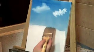 getlinkyoutube.com-درس رقم 1 رسم منظر طبيعي Landscape Oil Painting Lesson 1