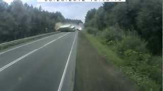 Tragiczny wypadek ciężarówki