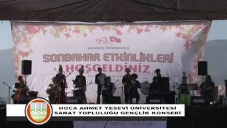 Hoca Ahmet Yesevi Üniversitesi Gençlik Konseri