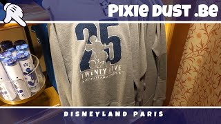 First 25th Anniversary Merchandise Disneyland Paris at Flora's Unique Boutique