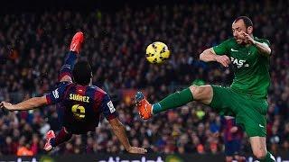 Luis Suarez ~ Fantastic Skill Goal vs PSG ~ UEFA CL  16/04/15