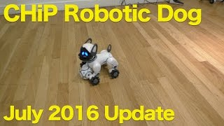 getlinkyoutube.com-CHIP Robotic Dog from WowWee, July 2016 Update, Voice Control Demo