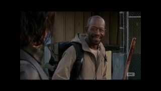 getlinkyoutube.com-The Walking Dead 5x16 Morgan saves Daryl Dixon & Aaron