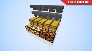 how to build a minecraft item sorter