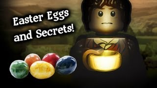 getlinkyoutube.com-LEGO: The Lord of the Rings: Easter Eggs and Secrets!